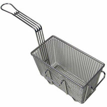 "TWIN FRYER BASKET, 9-3/8""L X 4-3/4""W X 5-3/8""D, HOOK LOCATION RIGHT & FR... - $45.00"