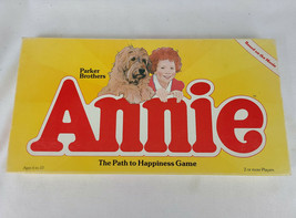 ANNIE The Path to Happiness Board Game Parker Brothers 1981 Based on the Movie - $49.95