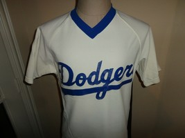 Vtg 80's Sand Knit Los Angeles Dodgers MLB Screen Baseball Jersey Fits A... - $74.20