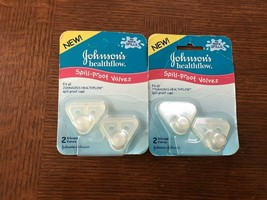 Johnson's Healthflow Spill Proof Valves Triangle Replacement Valves - $18.69