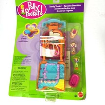 Vintage Polly Pocket Televison TV Trendy Tronics Mattel 2000 Playset Fig... - $100.00