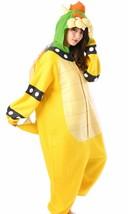 Super Mario Koopa Fleece Kigurumi Cosplay Costume Japan New - $96.56