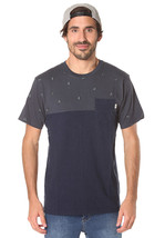 VANS STAY FLY MADRID FLYS TEE T SHIRT TOP MENS S OFF THE WALL BLUE POCKE... - $18.65