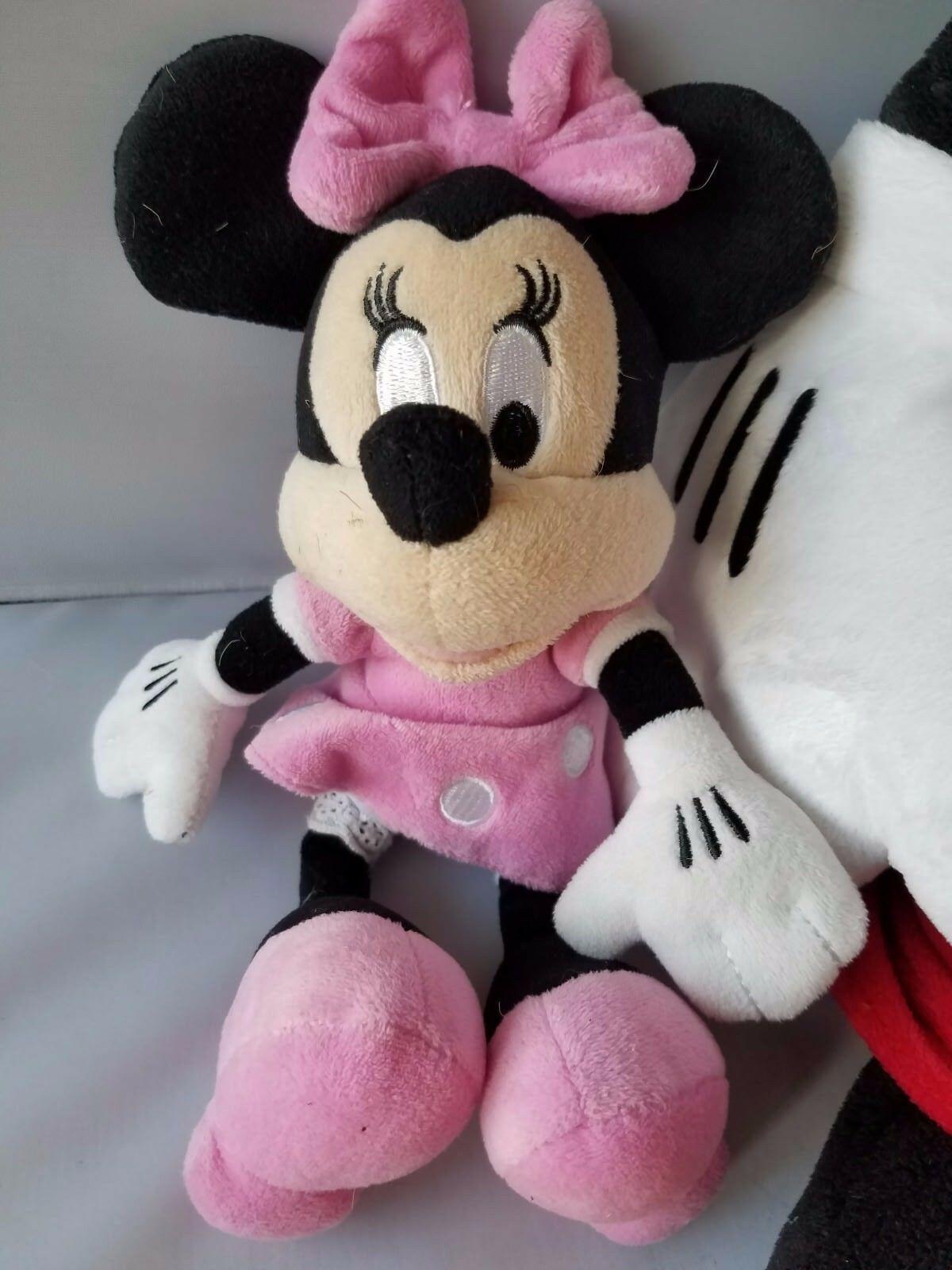 Disney Large Mickey Mouse Plush Toy Stuffed Animal +FREE Minnie Mouse Pink Dress