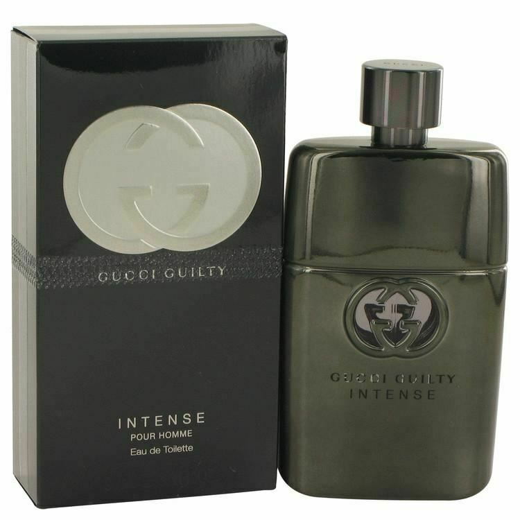 Primary image for Gucci Guilty Intense by Gucci Eau De Toilette Spray 3 oz for Men