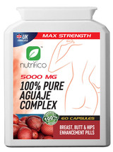 BREAST, BUM, BUTT ENLARGEMENT PILLS Pure Aguaje Complex 5000MG UK'S STRO... - $40.65+