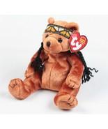 Ty Beanie Baby Little Feather Bear - $8.90