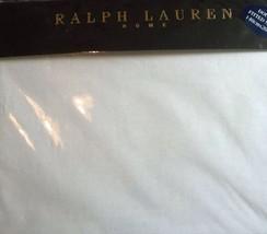 RALPH LAUREN Doble Tamaño Ajustado Sábana blanco - $70.79