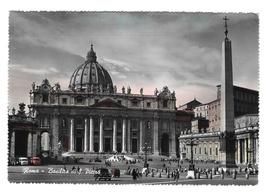 Italy Roma Rome Basilica S Pietro Cathedral Glossy Vera Foto Photo Postc... - $4.99