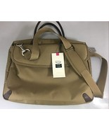 "Sumdex She Rules Beige Nylon 15.4"" Laptop Briefcase Shoulder Messenger B... - $66.64"