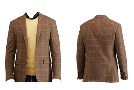 $895.00 Polo Ralph Lauren Polo Houndstooth Sport Coat Olive / Brown  Siz... - $316.01