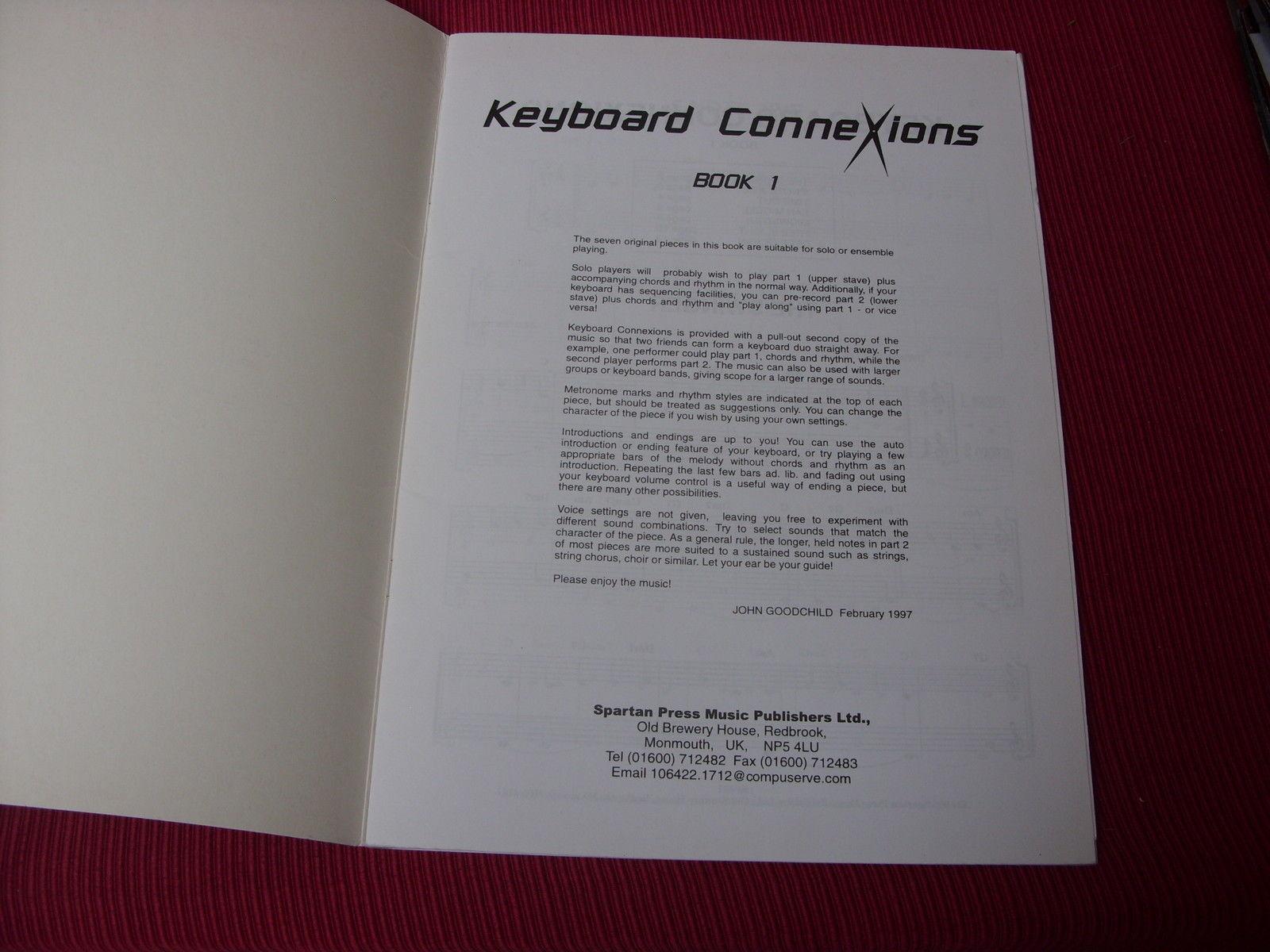 Keyboard Connexions Book 1 teaching resource musci book