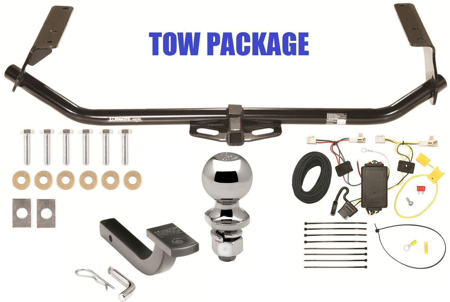 toyota trailer hitch 174 listingscomplete trailer hitch tow package for 09 16 toyota venza class 2 tow receiver $233 01