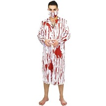 Cosplay Costume Bloody Doctor Recreative Jumpsuit Male Surgeon Suit with... - £22.20 GBP