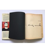 Andy Warhol Signed 1970 Rainer Crone Catalogue ... - $3,712.50