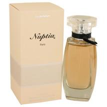 Nuptia by Paris Bleu Eau De Parfum Spray 3.3 oz for Women #539042 - $27.13