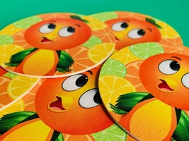 Adorable Drink Coasters featuring Disney World's Florida Orange Bird (5-... - $9.90