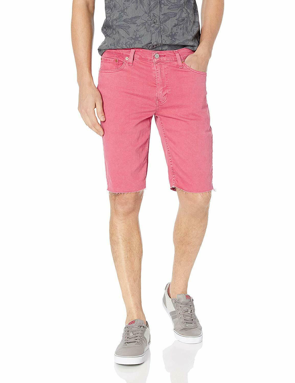 Levi's 511 Men's Premium Slim Fit Stretch CutOff Shorts Fruit Dove 365550287