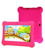 Kids Tablet, Quad Core 7'' inch HD Screen Android 4.4 KitKat Dual Camera... - $51.95