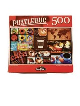 """Puzzlebug 500 Piece Puzzle My Favorite Drink 18.25""""  X 11"""" New COLORFUL - $6.23"""