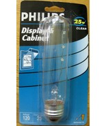 Phillips Display & Cabinet 25w T10 Base Clear Glass Bulb - $13.00