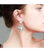 Pompon Dangle Earrings aliexpress Women Ear Piercing Ethnic Earrings Bri... - $11.45