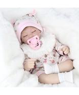 NPK 16 Inch 41cm Reborn Baby Realistic Soft Silicone Doll Handmade Lifel... - $146.69