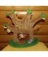 Winnie Pooh Bear Disney Plush Mr Sanders Finger Puppet Show Tree House D... - $10.95
