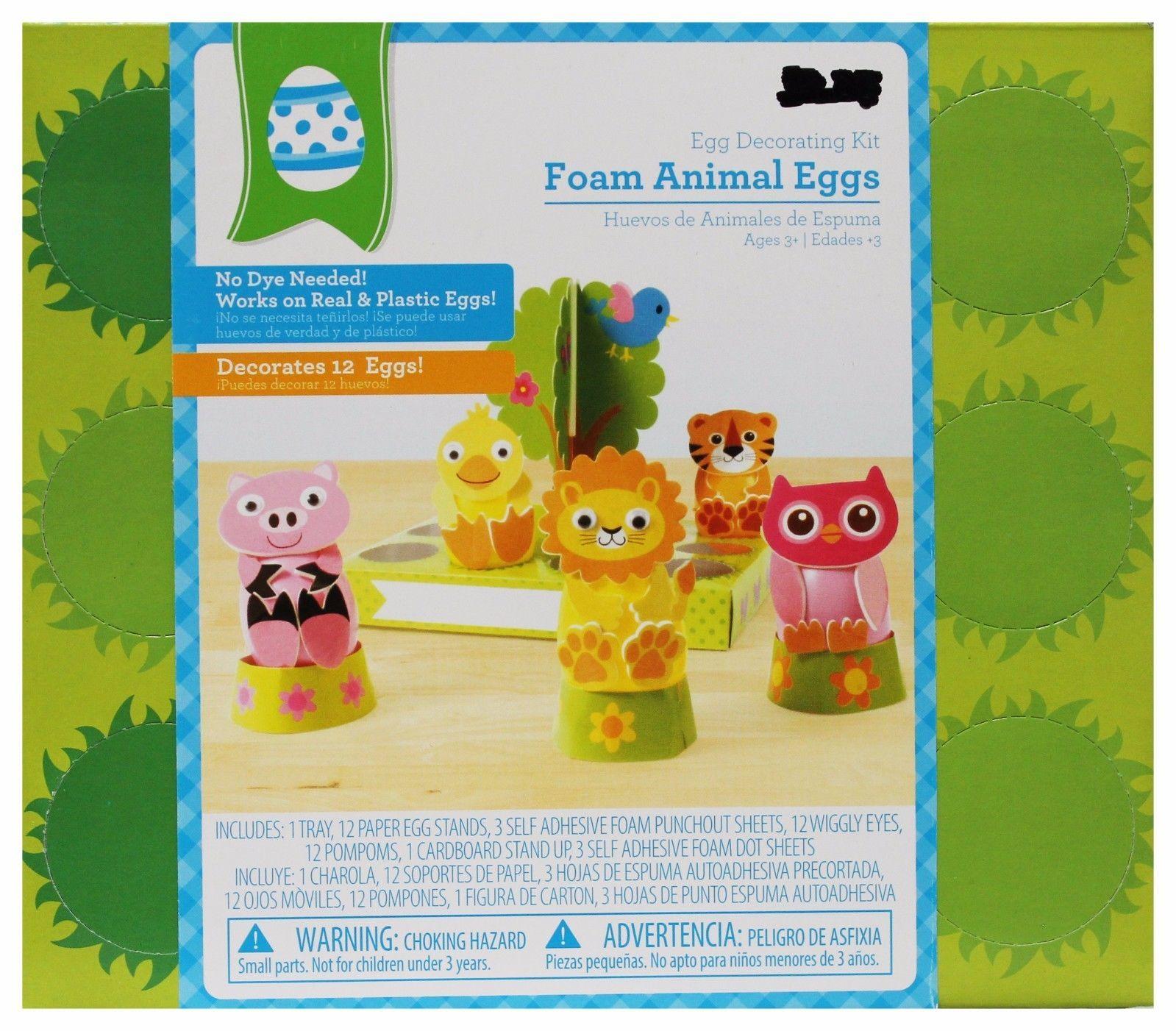 WAL-MART* Boxed EGG DECORATING KITS No Dye Needed EASTER Makes 12 *YOU CHOOSE*