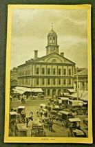 Antique Singer Sewing Co. Trade Card  'Boston - Fanueil Hall ' ( B-1) - $14.99