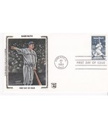 BABE RUTH #2046 CHICAGO, IL JULY 6, 1983 Z SILK H & M CACHET D-609 - €2,80 EUR