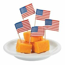 200 American Flag Mini Picks Toothpicks - $7.67