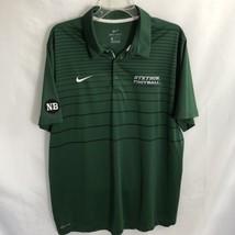 0d96755c98 Nike Golf Stetson University Hatters Football Green Polo Shirt Size XL S...  -