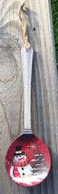 Primitive Wood 17084 White  Spoon Snowman Chris... - $2.50