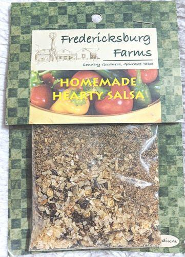 Fredericksburg Farms All Natural And Gluten Free Homemade Hearty Salsa Mix