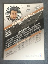 MANU GINOBILI 2002-03 TOPPS XPECTATIONS Xcitement #151 - ROOKIE RC Emanuel SP image 2