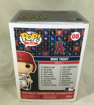 MIKE TROUT / AUTOGRAPHED L. A. ANGELS LOGO MLB FUNKO POP VINYL FIGURINE / COA image 5