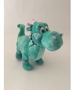 """DISNEY STORE Sofia the First teal purple CRACKLE THE DRAGON 16"""" large plush - $14.01"""