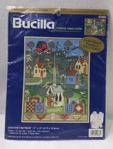 Bucilla Counted Cross Stitch Quilter's Retreat By Blakely Wilson 2000 #42666 - $17.82