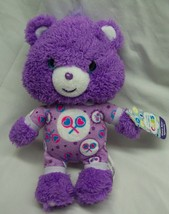 "Care Bears Cubs SOFT PURPLE SHARE BEAR BABY IN PJS 9"" Plush STUFFED ANIM... - $19.80"