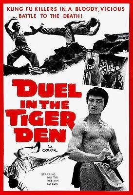 Primary image for Duel In The Tiger Den - 1972 - Movie Poster