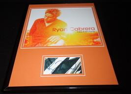 Ryan Cabrera Signed Framed 11x14 Photo Display JSA - $60.41