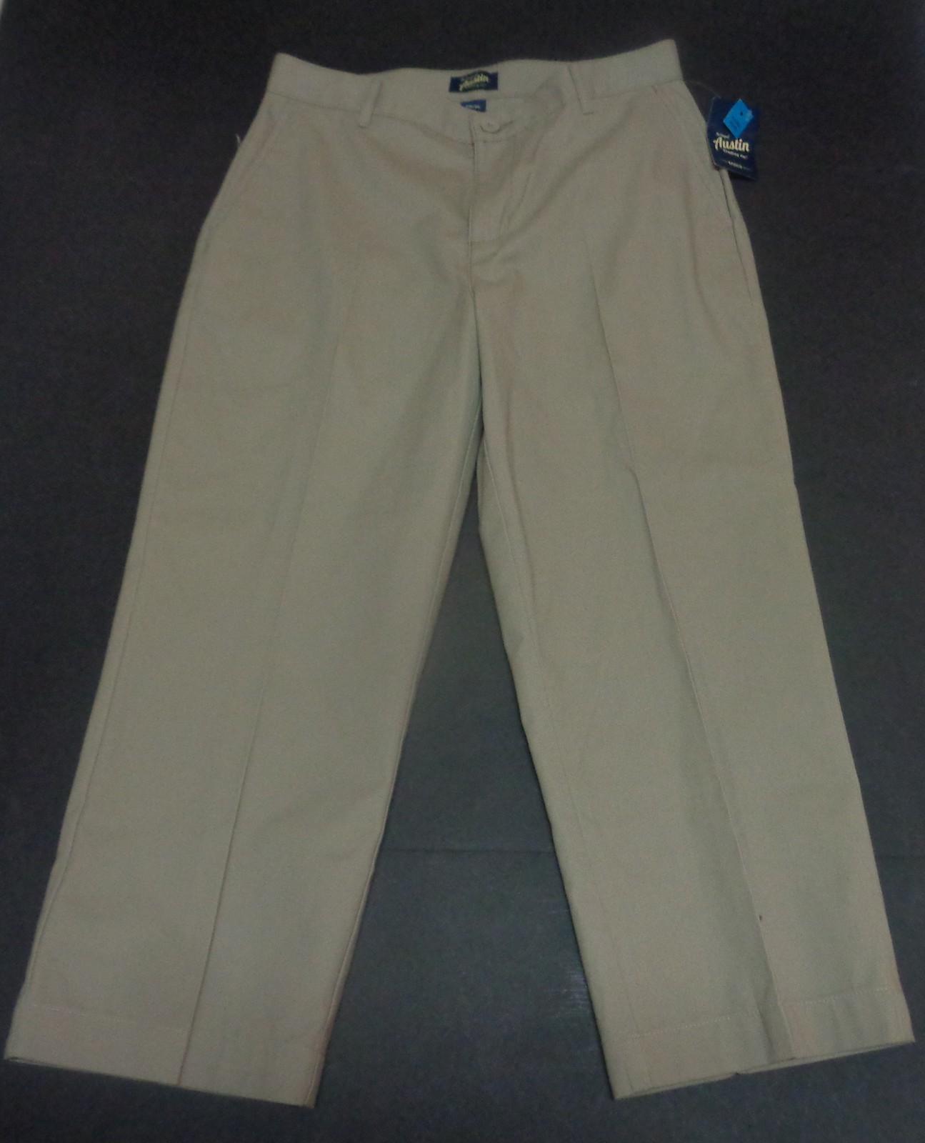 Austin Young Mens Khaki Pants NWT Sz 31/30