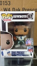 NFL Dallas Cowboys Dak Prescott Funko Pop Vinyl Figure - $15.67