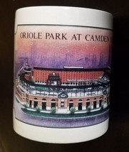 Camden Yards Oriole Park Coffee Mug Baltimore Orioles Jeff Wilkinson 1992 - $12.86
