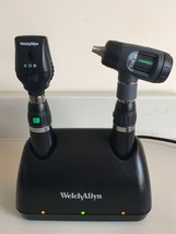 Welch Allyn Lithium Diagnostic set MacroView Otoscope Ophthalmoscope cha... - $494.51