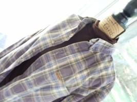 Carhartt Men's Shirt Plaid Button Down Long Sleeve Shirt, - $6.51
