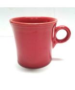 Fiesta Ware Fiestaware Scarlet Red Ring Handle Coffee Mug Cup Homer Laug... - $12.00