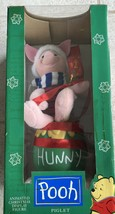 Telco Animated Pooh Piglet Christmas Holiday Motion Figure in Box - $39.37