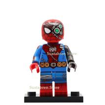 Cyborg Spider-Man (Spider-Cyborg) Marvel Comics Lego Minifigures Toy Gif... - $1.99